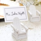 Beach Chairs Place Card Holders