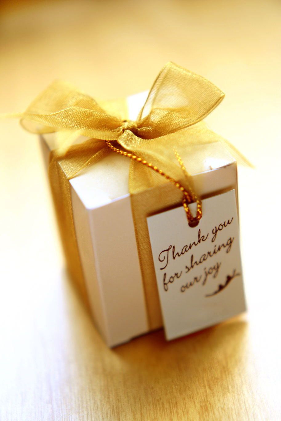 Thank You Favor For Wedding Guests