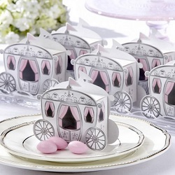 Fairy Tale Carriage Favor Boxes