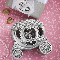Fairy Tale Pumpkin Coach Trinket Box