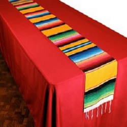 Woven Serape Table Runner