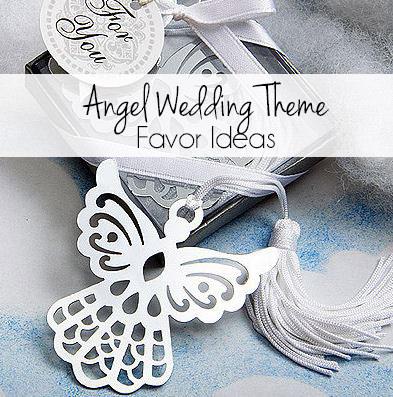 Angel Wedding Theme Favor Ideas