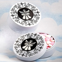Angel Design Mint Tins