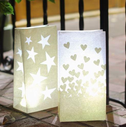 Star Luminary Bags