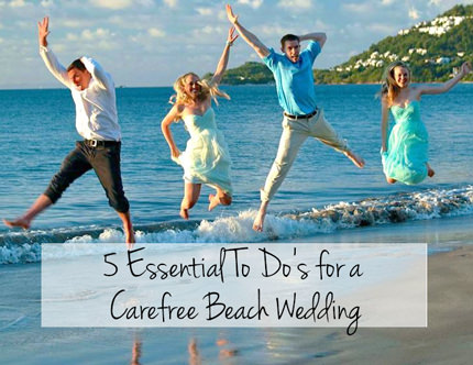 Carefree Beach Wedding