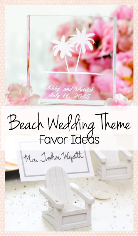 Beach Wedding Theme Favors
