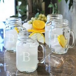 Old Fashioned Drink Jars