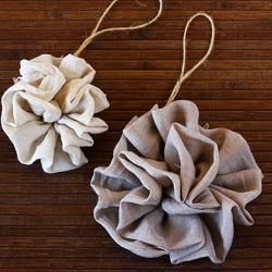 Fabric Ruffle Bow