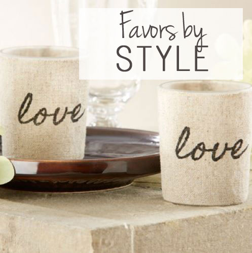 Wedding Favors by Style