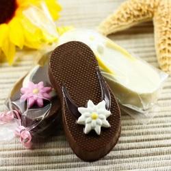 Chocolate Covered Oreo Flip Flops