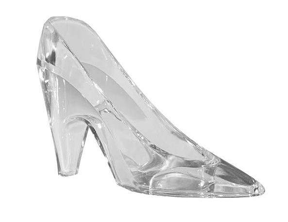 Glass Slipper Party Favor