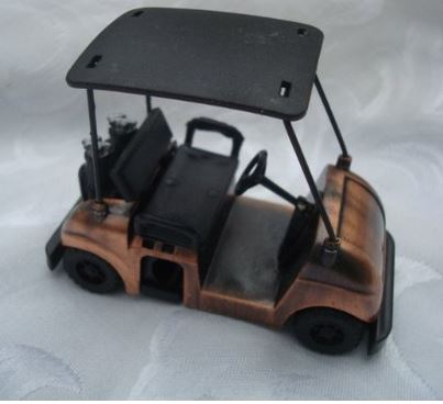 Golf Cart Pencil Sharpener