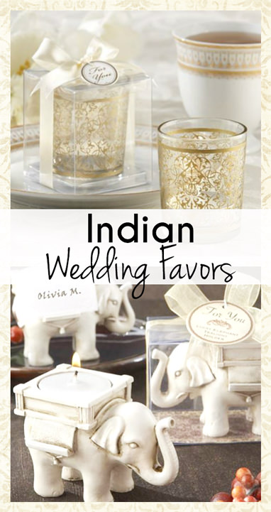 Indian Wedding Favor Ideas