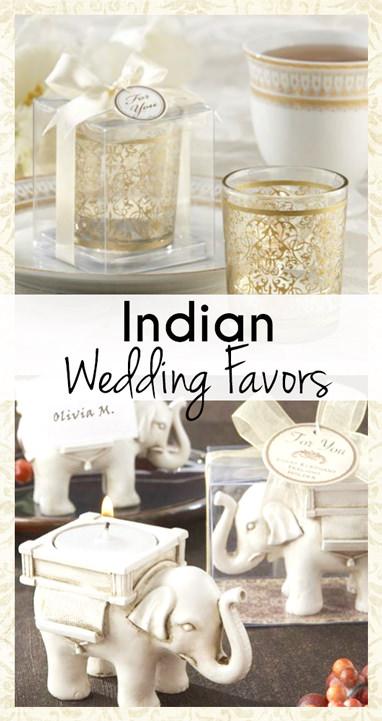 Indian Wedding Favors Ideas
