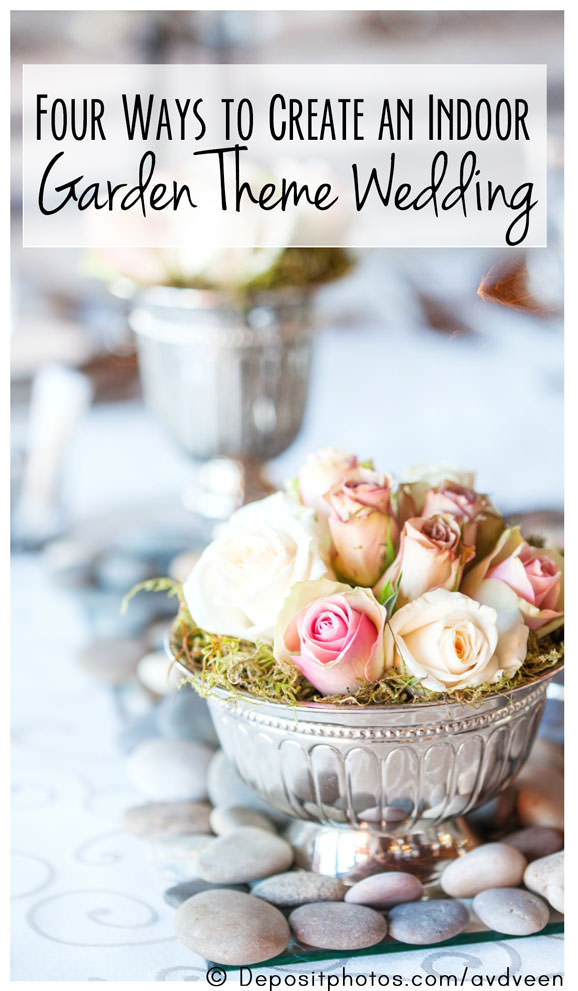 Indoor romantic garden wedding theme ideas any time of year junglespirit Gallery
