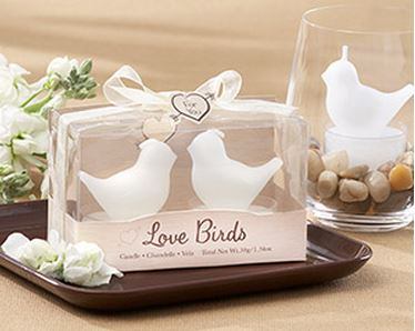 Love Birds Tea Candles