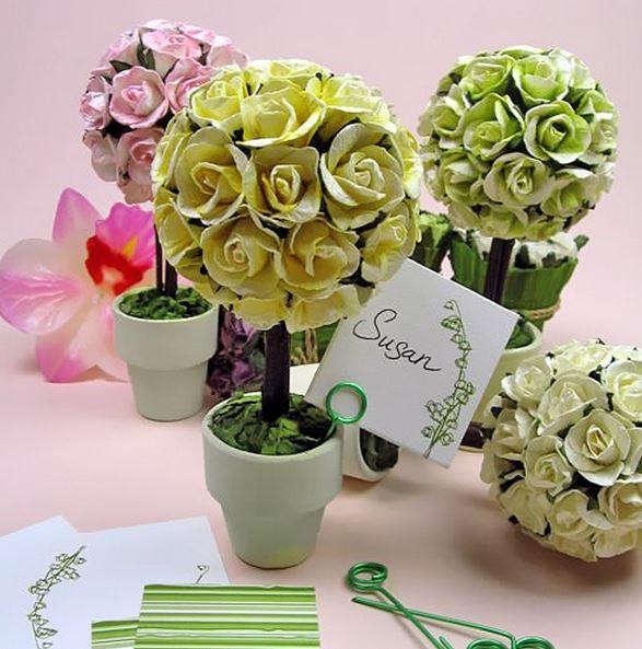 Mini Rose Topiary