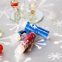 Personalized Lip Balm Wedding Favors