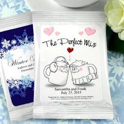 Personalized Wedding Hot Chocolate Mix
