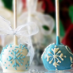 Holiday Brownie Favor Pops