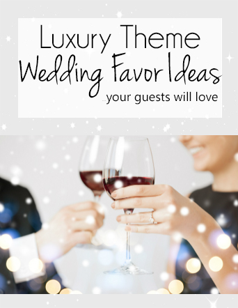 Luxury Theme Party Favors