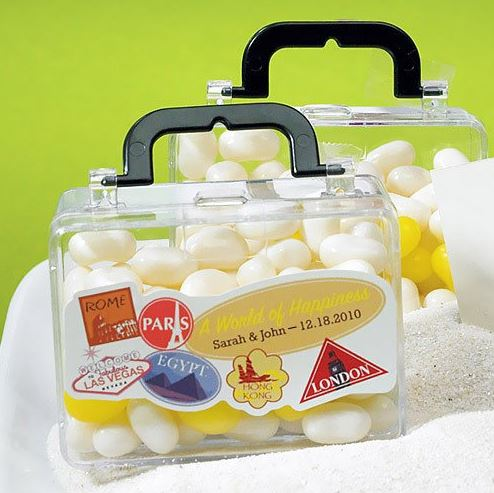Mini Travel Suitcase Favors