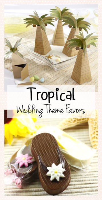 Favorite Tropical Wedding Favors