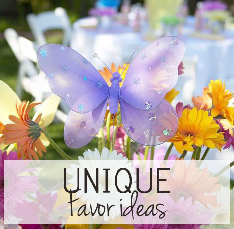 Unique Wedding Favor Ideas