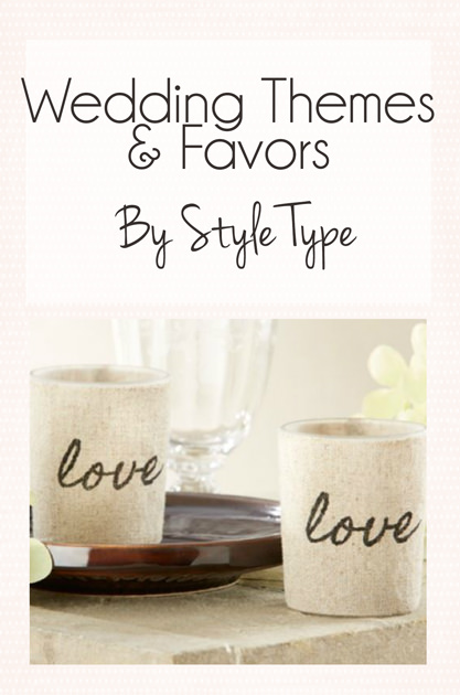 Wedding Themes and Colors By Style