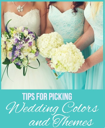 Tips for Picking Wedding Colors and Themes
