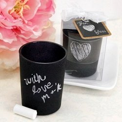 Candle Favor With Chaulk