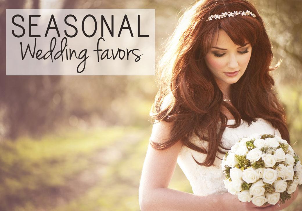 Seasonal Wedding Favors