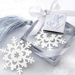 Snowflake Bookmark in Gift Box